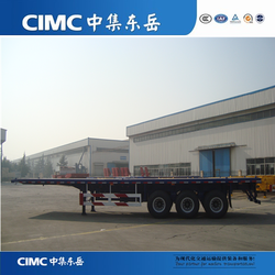 China Best Brand 3 Axle Flat Bed Trailer For Sale