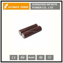 Hot!!!LG 18650 HG2 3000mah 3.7v 35A max discharge high drain li-ion battery cells high capacity