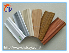 PVC flooring accessories MDF skirting board white cover