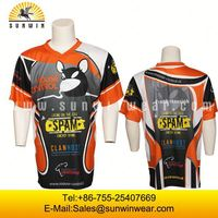 Dye Sublimation All Over Printed T-Shirts/ Beautiful Sublimation Printed Tees/ Customized Sublimated T Shirts