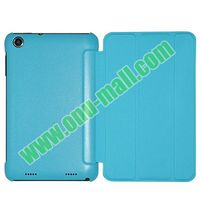 Official Style 3 Floding Leather Smart flip case for lenovo a1000 case