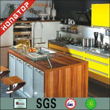 usta üretim sarı mutfak dolabı