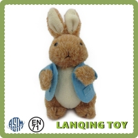 OEM Factory Cute Rabbit Animal Clothing Custom Plush Toy