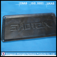Latest design EMI metal stamping shielding case with silk-screen printing