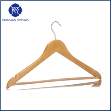 2015 wholesale logical standard cheap wooden coat hanger