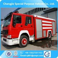 HOWO 4*2 hobby engine fire truck