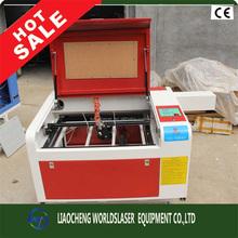 hot sale high precision 50W mini laser cutting machine laser engraver machine 400*600mm for sale