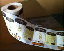 2015 Crazy Selling adhesive label and sticker for furniture