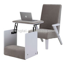 2014 new small recliner chair with stool tea table