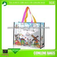 Glossy/Matt Lamination Non PP Woven Shopping Bag