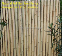 Natural cheap Roll bamboo fence