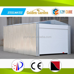 New invented metal colour metal garden sheds used for storing your car made in China