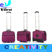 2015 Euro market High Quality Business Trolley Luggage bags/ Laptop Trolley bas/ Nylon Build-in caster Travel Trolley Luggage