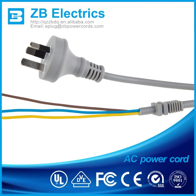 Vde Approval European 3 Pin Plug Pvc 10a 250v Power Cords For ...