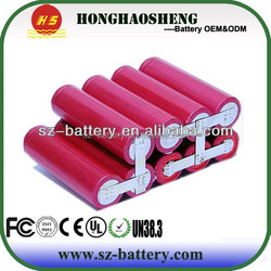 High capacity rechargeable LGhe2 battery cell 11.1v 7500mah battery pack for uncycle bike battery