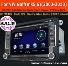 Hifimax A9 fast CPU VW Golf V car gps navigation system Volkswagen Golf 5 car radio gps VW golf 6 car multimedia player