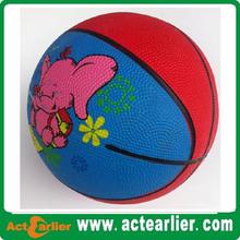custom logo size 1 ball basketball cheap price