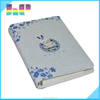 Fancy design plain white paper high quality hardcover notebook printing