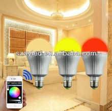 Multi-Color Changed Phone WIFI Led Bulb Light Wholesale