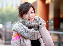 Korea hollow value factory outlets hot ladies fashion wool knitted scarf