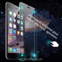 Mobile phhone accessories 2.5D Smart Touch shortcuts Tempered Glass Screen Protector For iPhone 5/5s