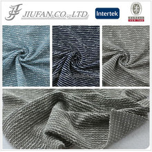 Jiufan Textile 2015 Hot Sale Tweed With Sequins Yarn dyed Fabric For Garment sweaters