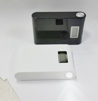 portable mobile power supply12000mAh with LCD LED flashlight