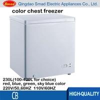 220v color chest freezer used for sale