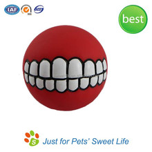 Soft Rubber Playing Ball Toy Dog Ball/Pet Rubber Dog Toys
