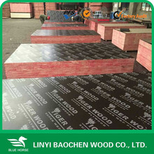 Whole sale price/Outdoor Usage laminated phenolic board/film faced shuttering plywood