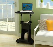 Top sale solid wood mini adjustable computer desk