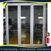 Aluminium folding door/aluminium glass folding door / bi-folding doors comply with Australian standards AS2047 AS2208 AS1288