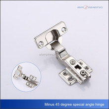 Minus 45 angle special cabinet hardware hinges