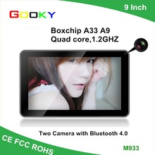 9 inch A33 quad core oem tablet android 4.4 support touch screen tablet