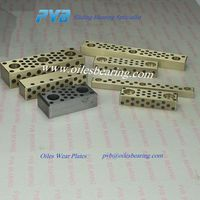 brass oiles bearing pad,brass oiles guide bars,Cast bronze sliding pads