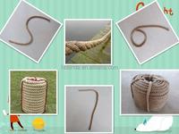 2015 latest market price of natural jute hemp packaging rope 6mm 8mm
