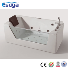 Hydro porcelain whirlpool bath tubs
