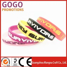 Hot new products for 2015 personalized glow in the dark silicone bracelets bulk buy from china