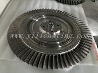 GEMD turbine wheel used for railway locomotive engine