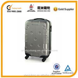 silver elegant design 20,24,28 inch luggage trolley luggage travel luggage
