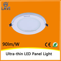 Zhong shan factory hot selling ultra thin led light panel 6w 12w 18w 5730SMD