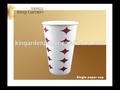 de papel taza de café