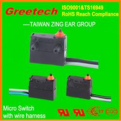 40t85 mini waterproof micro switch, car power window switch, car window switch