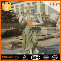 2014 PFM hot sale natural marble made hand carved nude statues