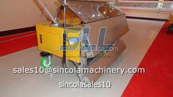Saving labor cost of rendering project 380v high pressure plaster rendering machine
