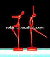 Resin sexy lady ballet nude statues favor wedding gifts craft