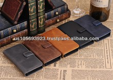 Luxury Flip Wallet Leather Case For IPHONE 5C Credit Card 5 colors