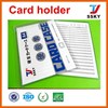 PVC id wall business card holder manufacturer