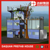 sunny prefabricated modified container house for living