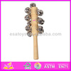 Hot sale high quality Jingle stick,Play Fun wholesale wooden with sound Jingle stick WJ278128